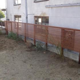 ウッドフェンス1